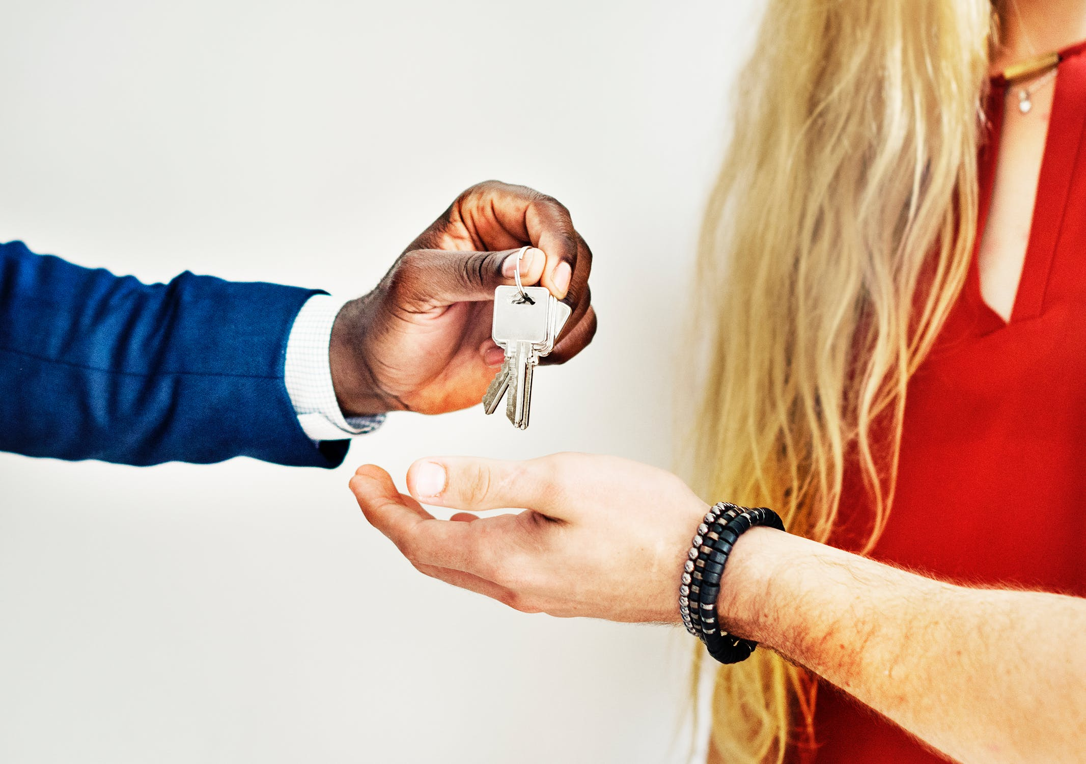 huis sleutel overhandigen